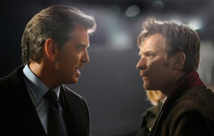 The Ghost Writer movie scene with Pierce Brosnan and Ewan McGregor