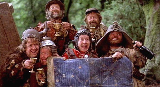 Time Bandits movie scene
