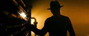 A Nightmare On Elm Street movie scene with Freddy Krueger played by Jackie Earle Haley