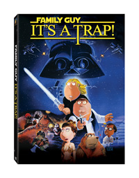 Family Guy: It's a Trap DVD box