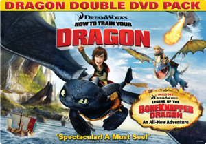 How to Train Your Dragon Double DVD box
