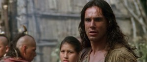 The Last of the Mohicans movie scene