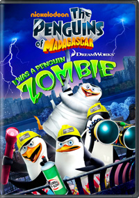 The Penguins of Madagascar: I Was a Penguin Zombie DVD box