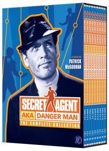 Secret Agent AKA Danger Man Complete Collection DVD boxed set