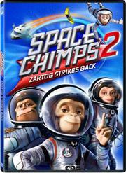 Space Chimps 2: Zartog Strikes Back DVD box