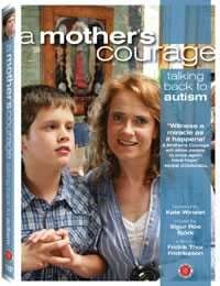 A Mother's Courage: Talking Back to Autism DVD box