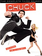 Chuck: The Complete Third Season DVD box