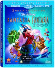 Fantasia/Fantasia 2000 Blu-ray/DVD combo box