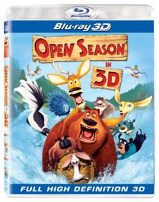 Open Season Blu-ray 3D box