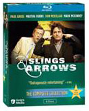 Slings and Arrows: The Complete Collection Blu-ray box
