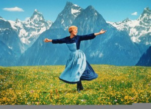 The Sound of Music movie scene