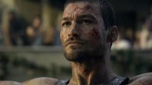 Spartacus Blood and Sand TV show scene