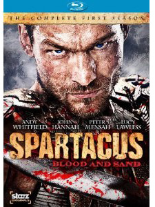 Spartacus Blood and Sand Blu-ray box