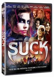 Suck DVD box