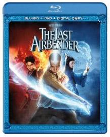 The Last Airbender Blu-ray box