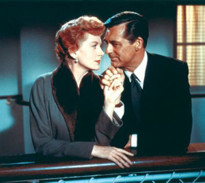 An Affair to Remember movie scene with Cary Grant and Deborah Kerr