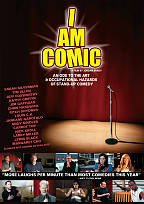 I Am Comic DVD box