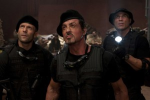 The Expendables movie scene