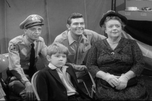 The Andy Griffith Show scene