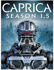 Caprica 1.5 DVD box
