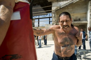 Death Race 2 movie scene with Danny Trejo