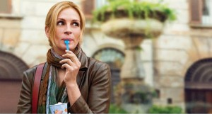 Eat Pray Love movie scene with Julia Roberts
