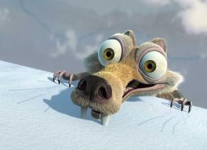 Ice Age movie scene
