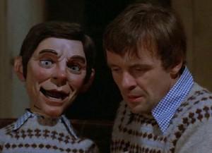 Magic movie scene with Anthony Hopkins