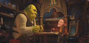 Shrek Forever After movie scene