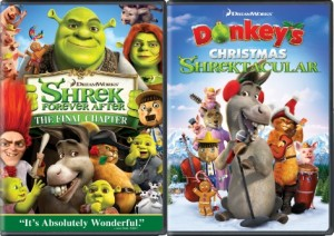Shrek Forever After Double DVD box