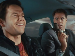 The Other Guys movie scene with Mark Wahlberg and Will Ferrell