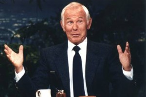 The Tonight Show Starring Johnny Carson scene