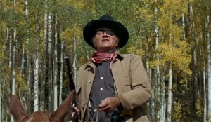 True Grit movie scene with John Wayne