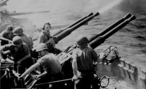 The World at War documentary scene