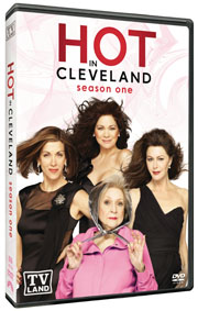 Hot in Cleveland DVD box