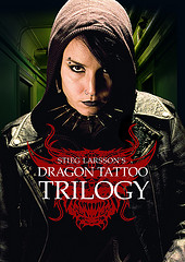 Steig Larsson's Dargon Tattoo Trilogy DVD box