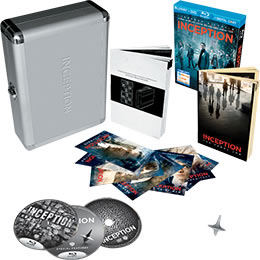Inception Briefcase DVD and Blu-ray box