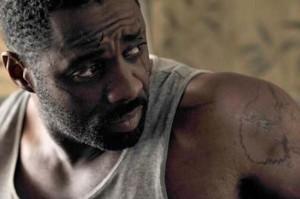 Legacy movie scene with Idris Elba
