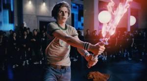 Scott Pilgrim vs. the World movie scene