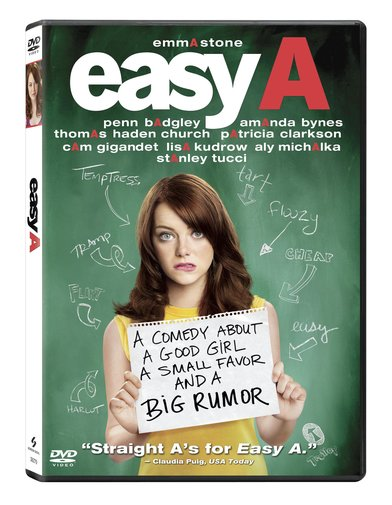 Easy A DVD box