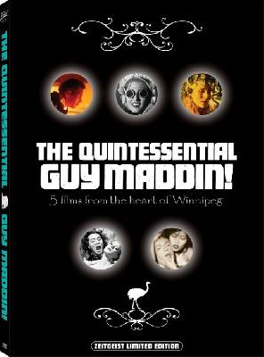 The Quintessential Guy Maddin DVD box