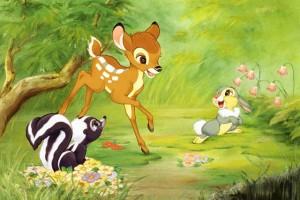 Bambi movie scene