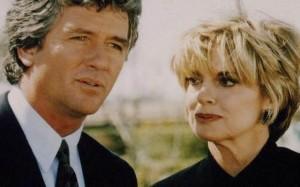 Dallas War of the Ewings scene