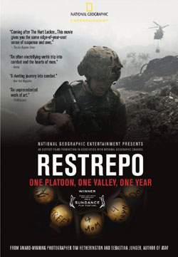 Restrepo DVD box