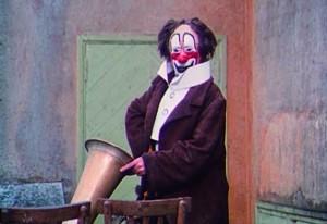The Clowns movie scene
