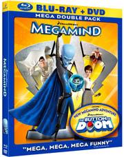 Megamind Blu-ray box
