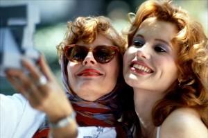 Thelma & Louise movie scene