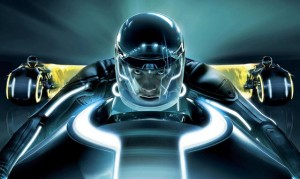 Tron: Legacy movie scene