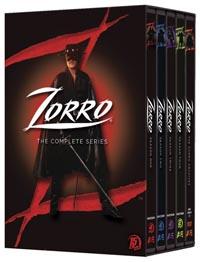 Zorro: The Complete Series DVD box