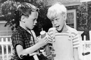 Dennis the Menace TV show scene